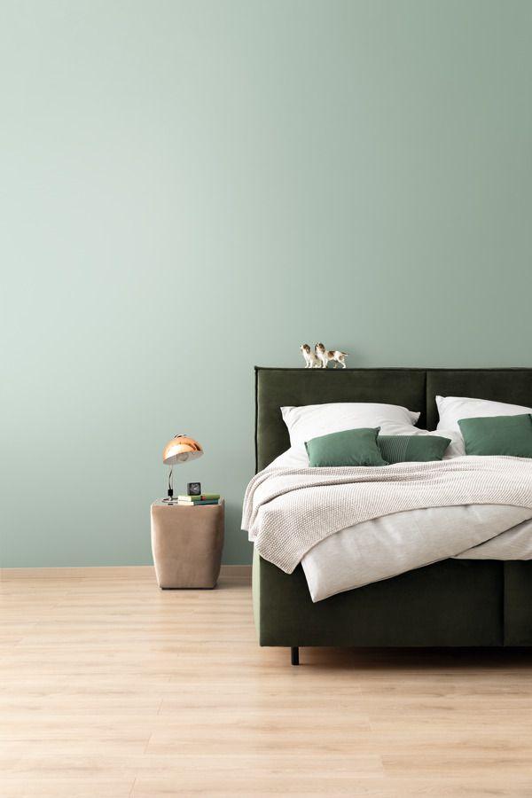 Harmonisches Jadegrun Schoner Wohnen Farbe In 2020 Schoner Wohnen Wandfarbe Schoner Wohnen Farbe Schoner Wohnen