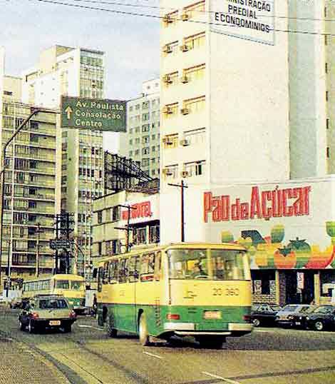 Supermercado Pao de Acucar rua da Consolacao X av Reboucas X av Paulista / Viacao Gato Preto?. Ônibus antigos de São Paulo, Baixada e interior - Page 2 - SkyscraperCity