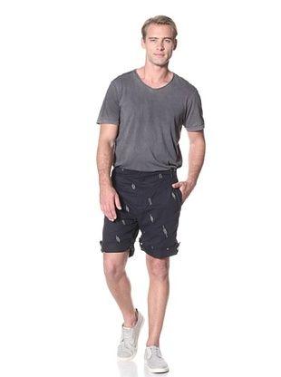 Maharishi Men's Summer Snoshorts Shorts (Dark Navy)