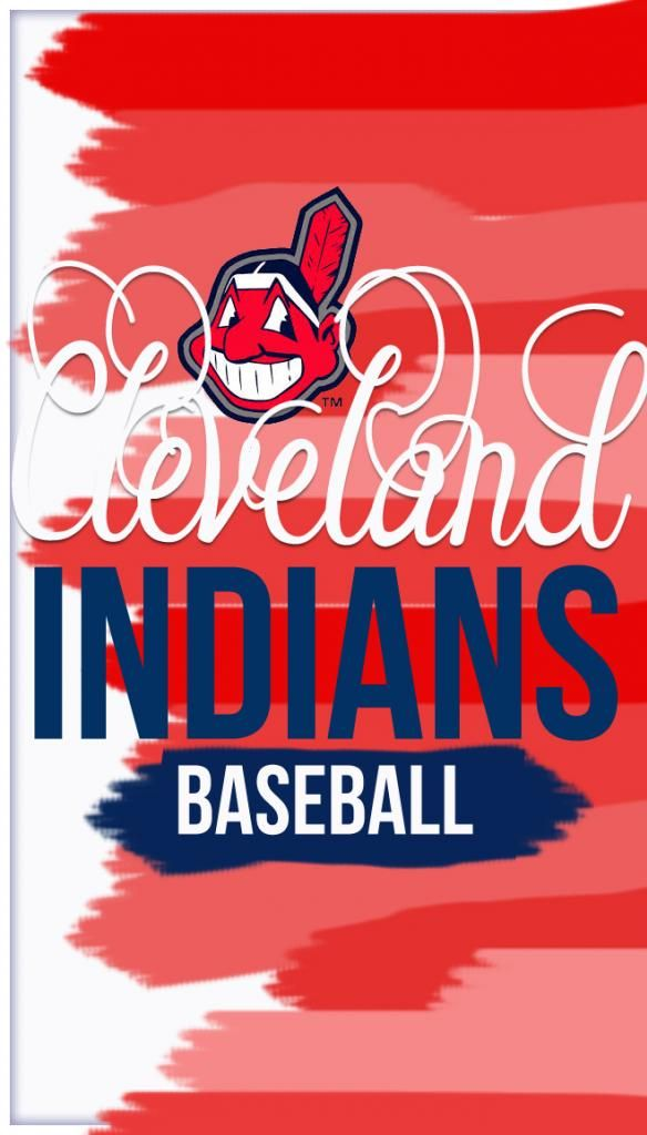 Cleveland Indians baseball iphone screen saver from Venus Trapped in Mars
