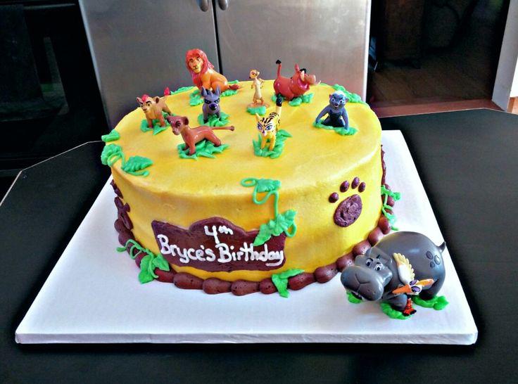 Lion guard birthday cake