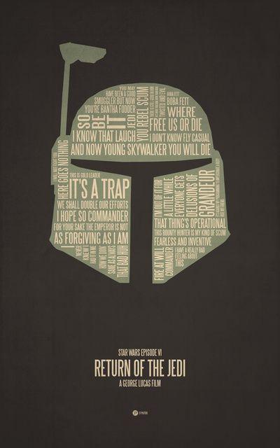 Boba Fett Typography