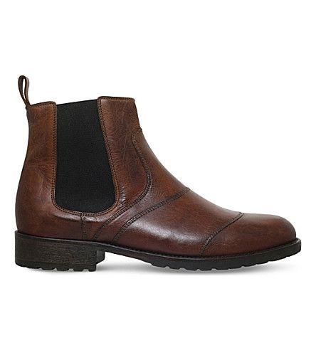 BELSTAFF Lancaster Leather Chelsea Boots. #belstaff #shoes #boots