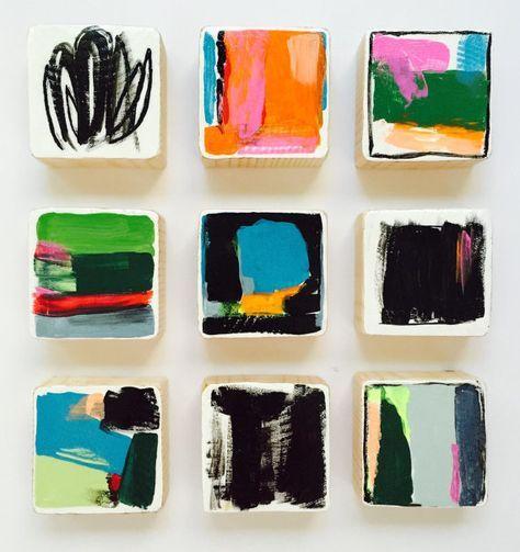 25 beste idee n over moderne kunst op pinterest moderne kunstschilderijen blad schilderijen. Black Bedroom Furniture Sets. Home Design Ideas