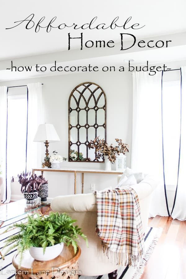 Affordable Home Decor Ideas (Home Decor Ideas On A…