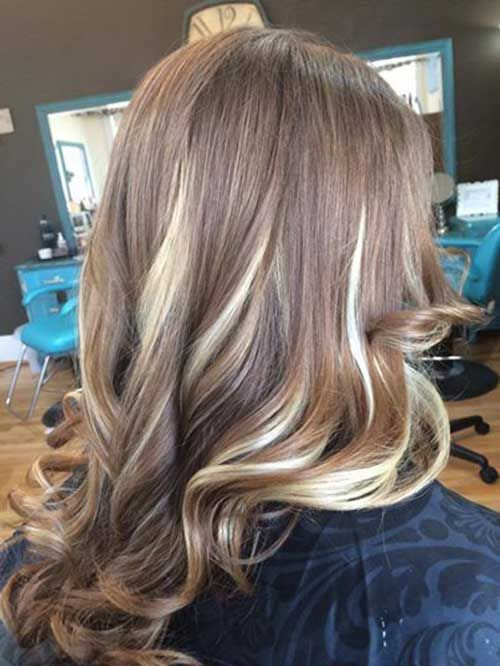 Image result for peekaboo hair color