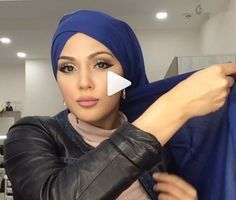 This is a hijab style for special occasions or a women only party, it's a turban inspired one but with slightly some changes created by the talented makeup artist @makeup_saparova who always shares such a cute unique hijab styles. …