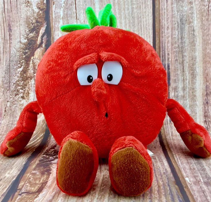 Co-Op Goodness Gang Toby Thomas Tomato superfoodz soft toy teddy plush kids