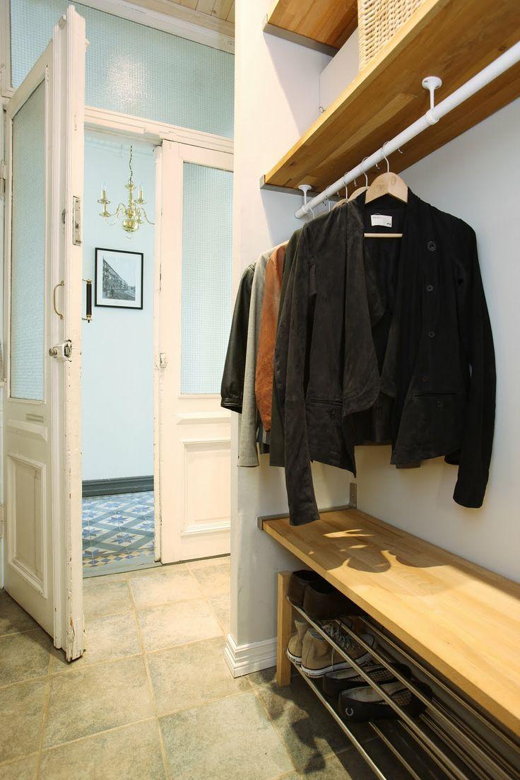 Viac ne 1000 n padov ovestiaire entr e na pintereste police id e dressing a meuble vestiaire - Gang idee ...