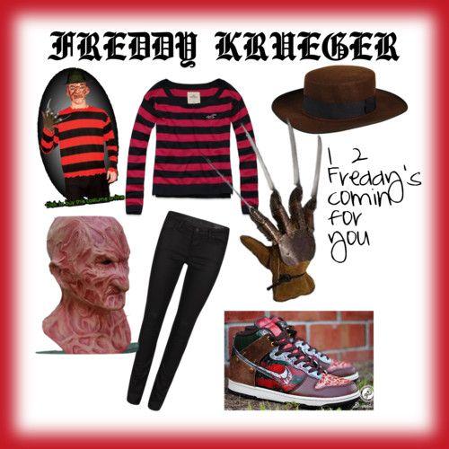 Freddy Krueger skirt | diy freddy krueger costume - Polyvore