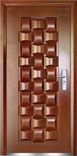 ابواب شقق خارجية 8 Door Glass Design Wooden Main Door Design Door Design