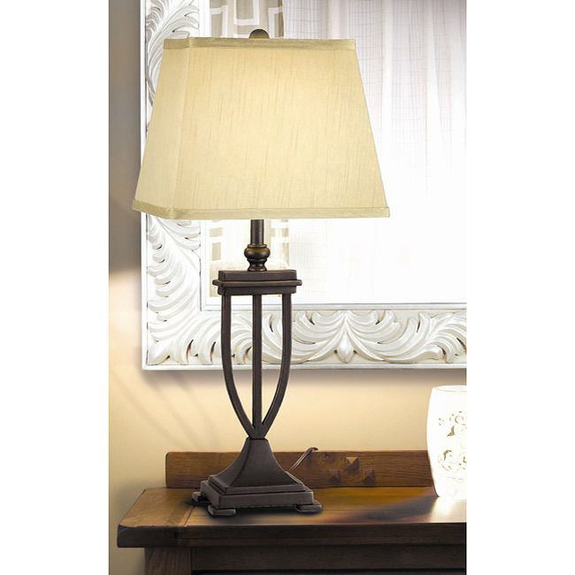 Living room end table lamps modern house for Modern living room table lamps