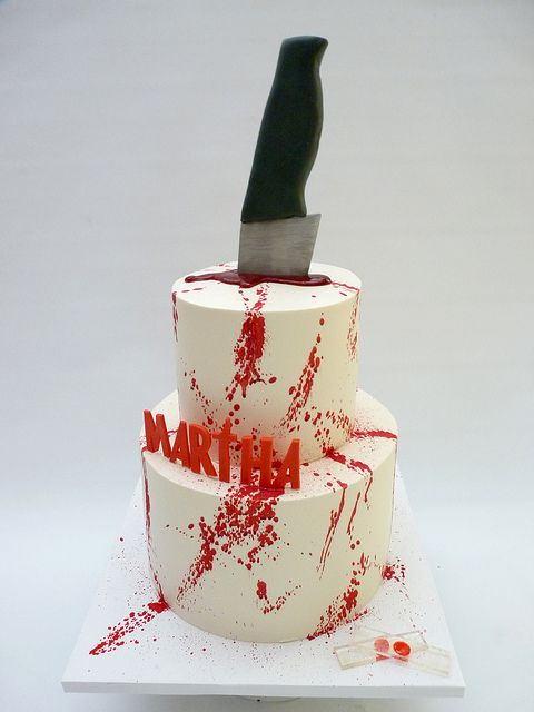 OMG!  Dexter cake!!!!  @Alice McElwee, I know you want this, too.
