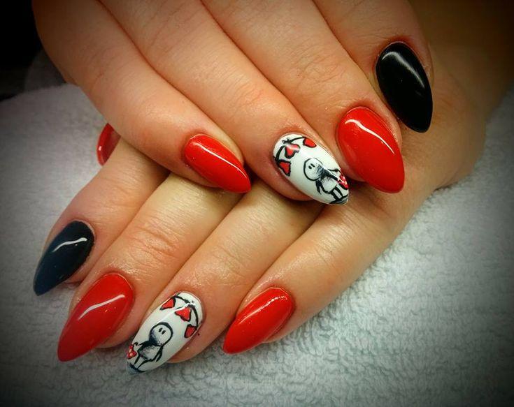 Coraz bliżej Walentynki :) Szukasz pomysłu na miłosną stylizację paznokci? Wpadnij do nas! Zapisz