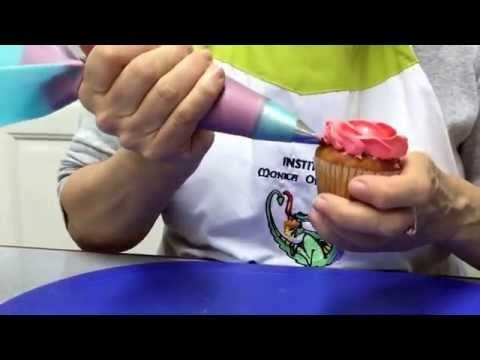 Decoración de tortas y pasteles Crisantemos en Glaseado Real Decorado flores dulces - YouTube