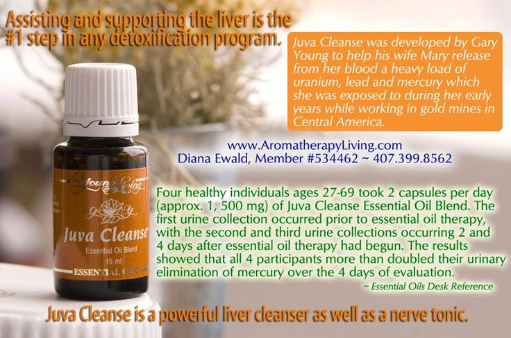 Young Living Juva Cleanse Essential Oil: Liver ...