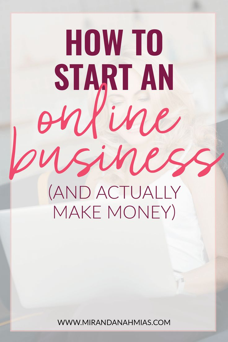 Curious about starting an online #business? Here's how to do it AND guarantee that you'll actually make some money with it! // Miranda Nahmias & Co. — Score New Clients and Explode Your Business with Systemized Marketing