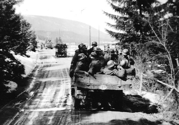 From the German invasion of Norway, April 1940 - ww2