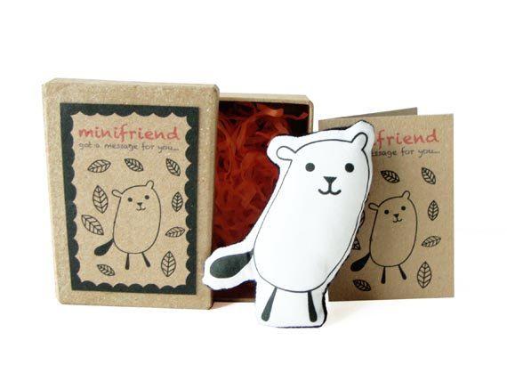 Cotton Message Doll - Minifriend Taki