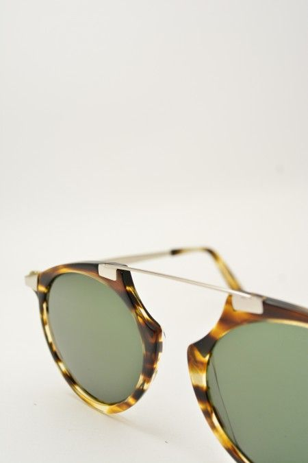Bob Sdrunk MARK havana sunglasses #Sunglasses #BobSdrunk #HavanaShiny #ClassicShape #Mark #GreenGradient #BassanoDelGrappa #DesignGlasses #Design #Silver #Gomorra #GomorraTheSeries online store at www.bassanooptical.com