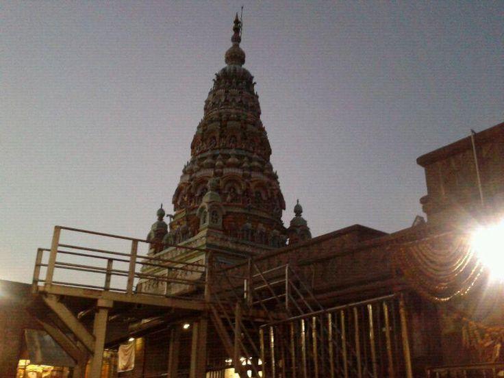 Temple of Tulja Bhavani at Tuljapur! It's believed that the Goddess gifted Chhatrapati Shivaji Maharaj the Bhavani sword. - 30 December, 2012