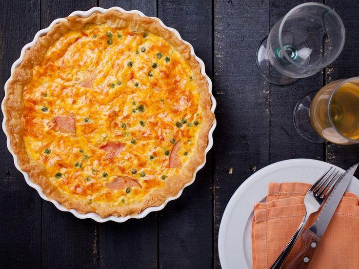Découvrez la recette Quiche bacon mimolette sur cuisineactuelle.fr.