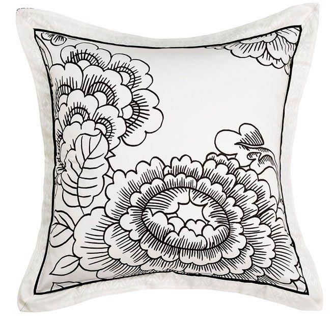 Chia European Pillowcase Mint Manchester Warehouse