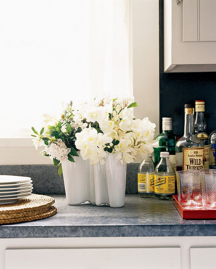 Invest in affordable classics, like this Finnish vase