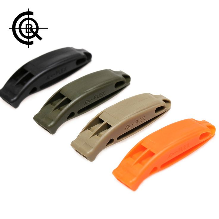CQB Luar Survival Peluit Wasit Peluit Multifungsi Olahraga Ganda Frekuensi Peluit PJ00243