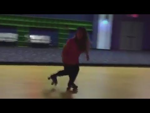 MICHELLE DUGGARS Unseen Skating Skills : Just Amazing