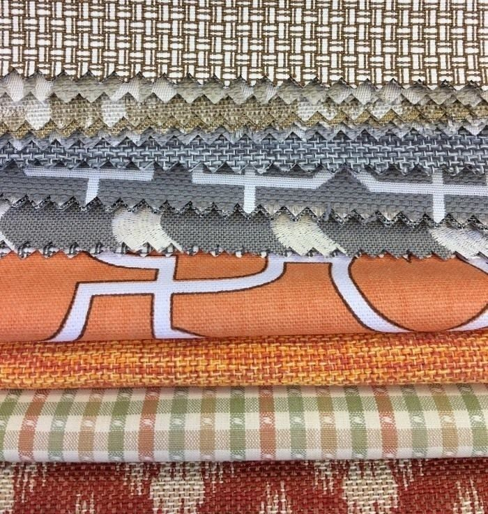 ТОМ II #Galleria_Arben - огромный выбор разнофактурных и цветных американских тканей для вашего интерьера #ткани #декорокна #fabric #хлопок