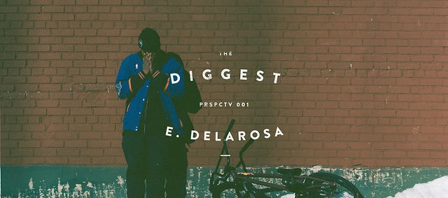 PERSPECTIVE 001 - EDWIN DELAROSA by The Diggest. In a world with more and more web videos, The Diggest wants to make a break ,to create something a little bit different, and to focus more on the creative process and the people around bicycle.