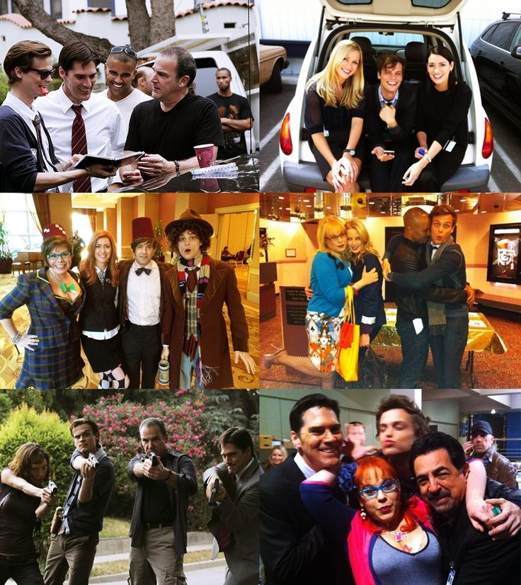 Dr. Spencer Reid & Derek Morgan & Aaron Hotchner & Penelope Garcia & Jennifer Jareau & David Rossi & Emily Prentiss