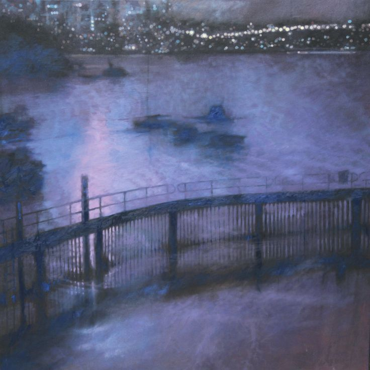 Redleaf Pool in Sydney 100 x 100cm, oil on canvas, by John Phillips. Born in England, he came to Australia at a very young age. In 2008, John was a finalist of the Archibald with a portrait of Wendy Whiteley. See www.jeartconsultants.com.au