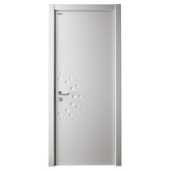 mspd40 modern matte lacquer hinged flat interior door