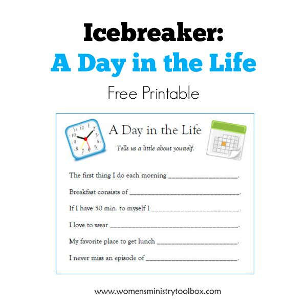 Icebreakers | Small Groups