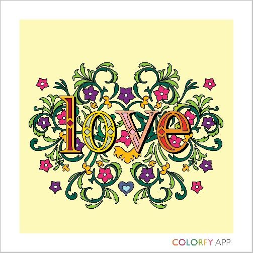 Try colourfy! Colour up your creativity