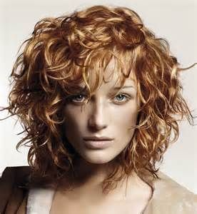 Image detail for -Short_bob_curly_hairdo_with_long_curly_bangs