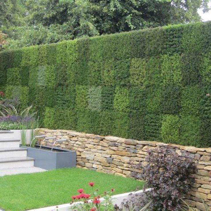 Les 70 meilleures images du tableau murs portails et grillages sur pinterest am nagement de - Mur en cailloux ...