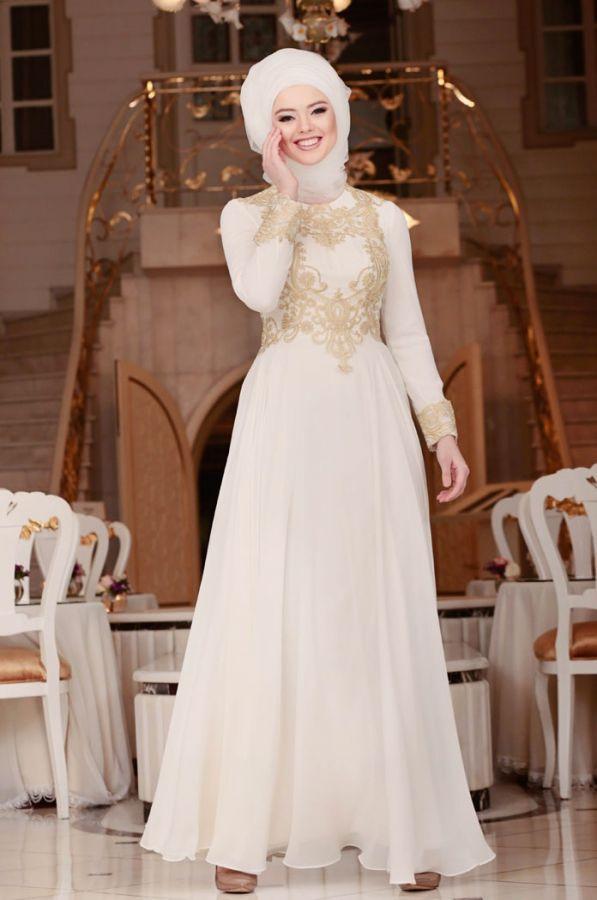 Gonul Kolat Dantelli Nikah Elbisesi Krem Soz Elbisesi Soz Kiyafetleri Sozelbisesi Sozkiyafetleri The Dress Dantel Gelinlik Elbise