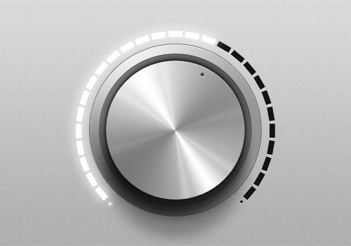 lit knob indicators