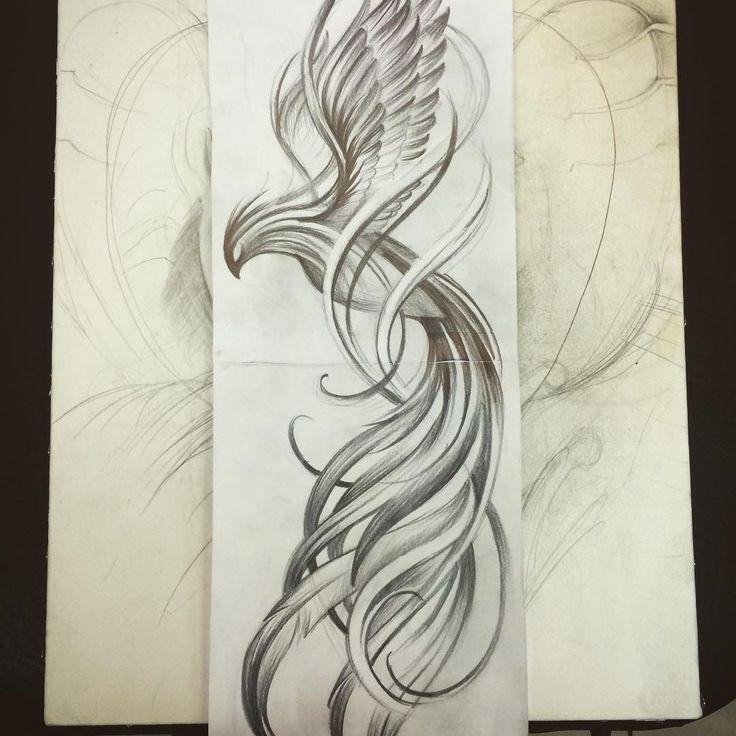 awesome Top 100 phoenix tattoo - http://4develop.com.ua/top-100-phoenix-tattoo/