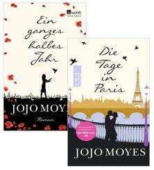 Jojo Moyes Paket (2 Bücher) - Ein ganzes halbes Jahr + Die Tage in Paris