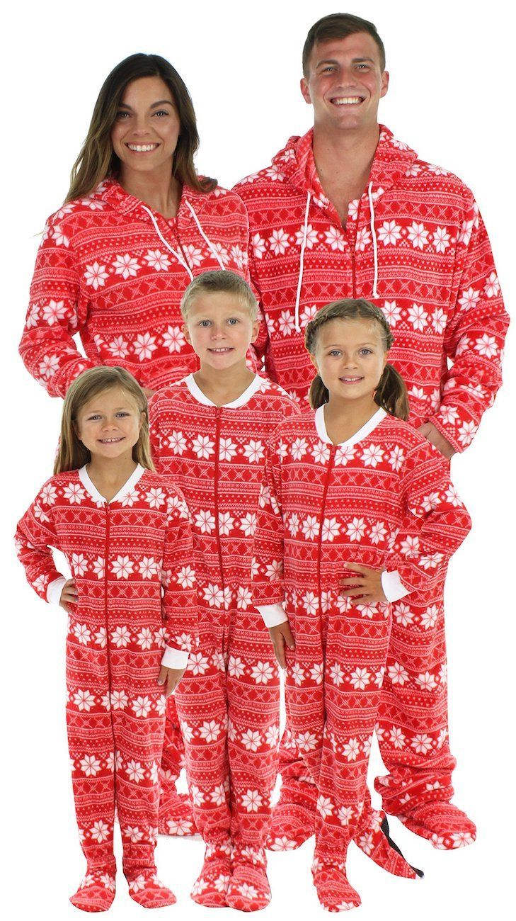 Christmas Footie Pajamas For Kids.The Best Christmas Footie Pajamas For The Family