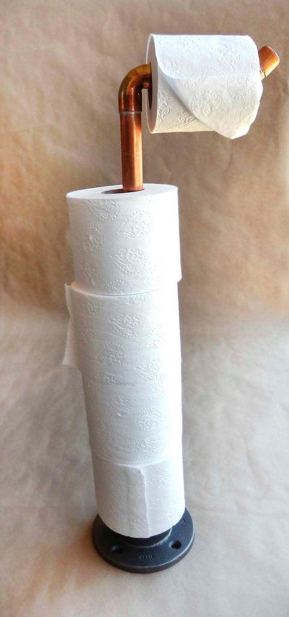 Hey, I found this really awesome Etsy listing at https://www.etsy.com/listing/198775206/toilet-paper-stand-copper-toilet-paper