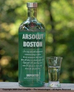 Absolut Boston - possibly the most boring special edition bottle :(