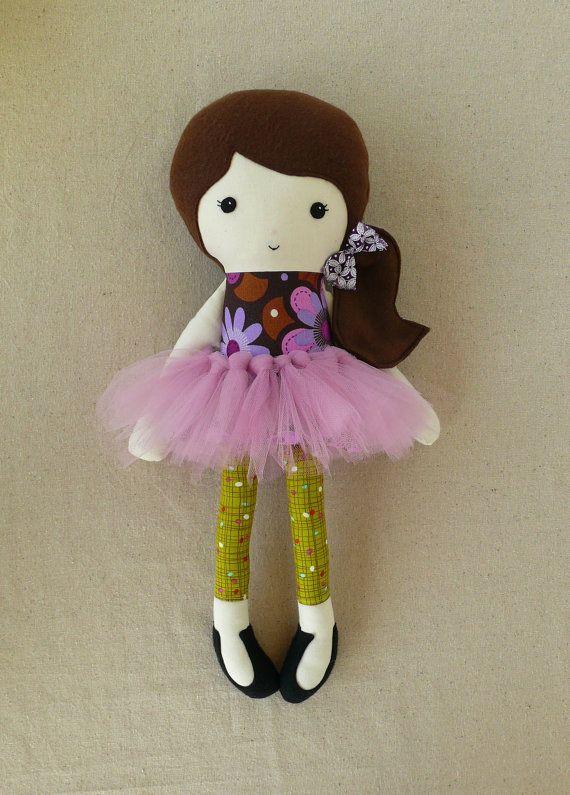 Reserved for Karlsmom .... Fabric Doll Rag Doll por rovingovine