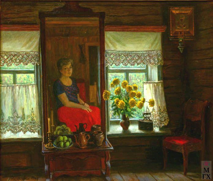 Финогенова Млада Константиновна-Золотые шары (Mlada Finogenova)