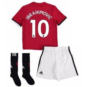 Manchester United Zlatan Ibrahimovic 10 Koti Peliasu Lasten 17-18