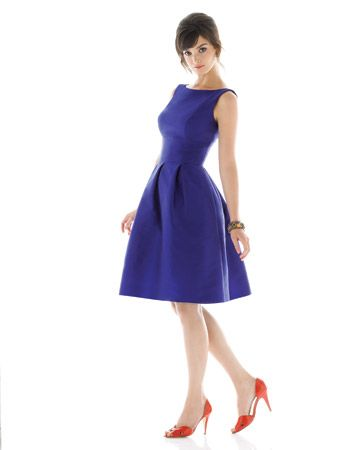 blue bridesmaid: Blue Bridesmaid